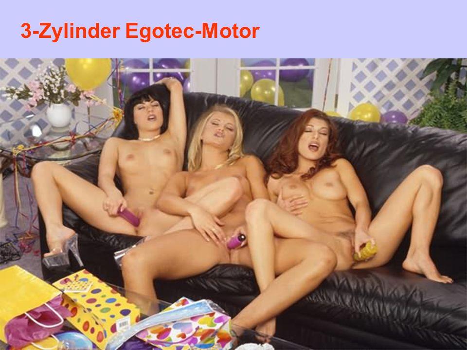 3-Zylinder Egotec-Motor