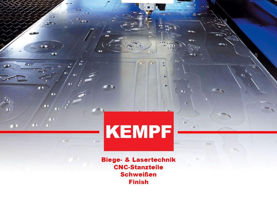 Biege- & Lasertechnik CNC-Stanzteile Schweißen Finish