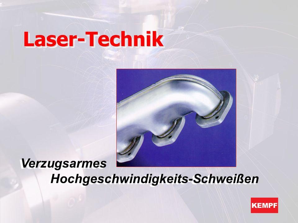 Laser-Technik Verzugsarmes Hochgeschwindigkeits-Schweißen