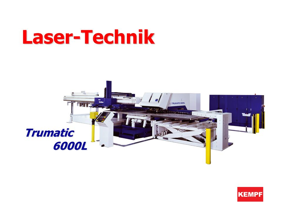 Laser-Technik Trumatic 6000L