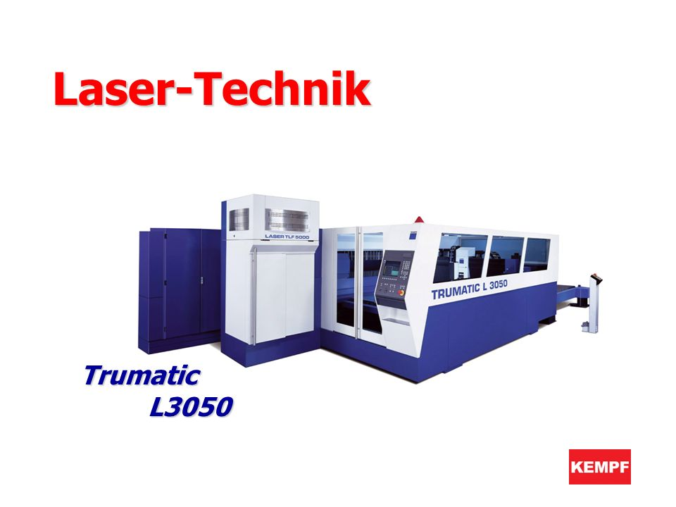 Laser-Technik Trumatic L3050