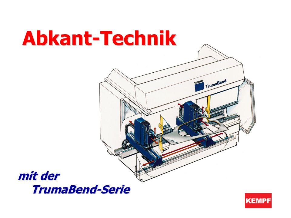 Abkant-Technik mit der TrumaBend-Serie