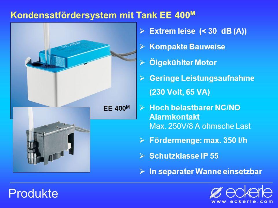 Produkte Kondensatfördersystem mit Tank EE 400M