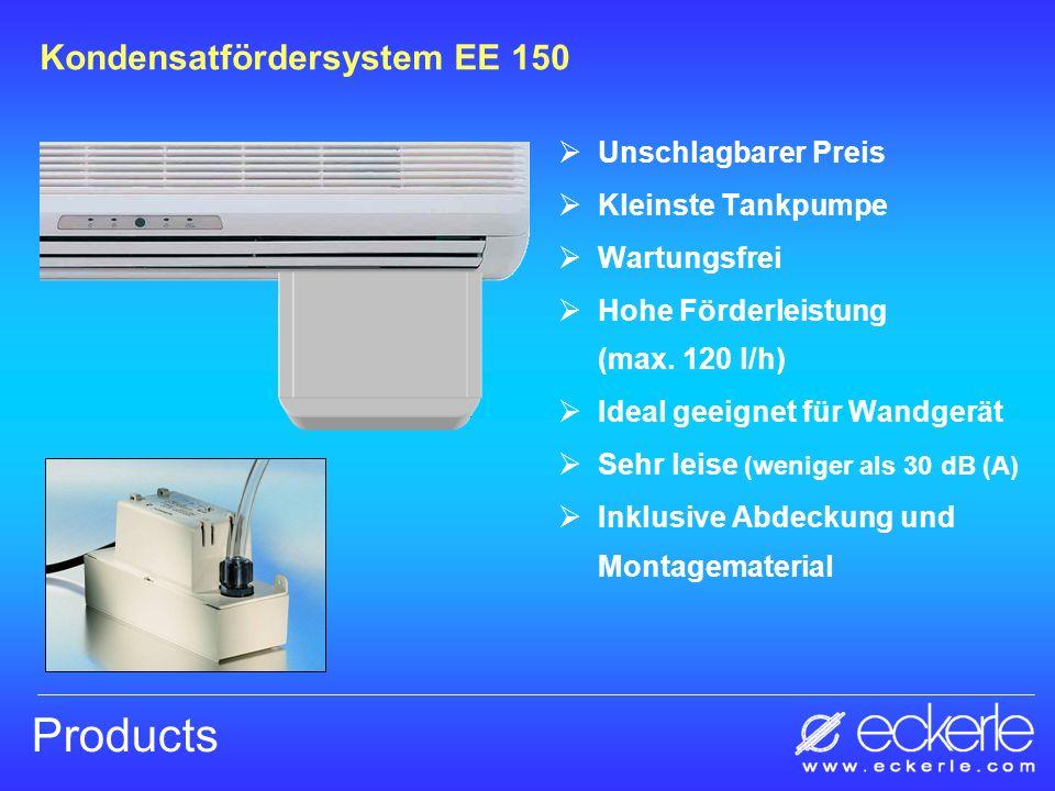 Products Kondensatfördersystem EE 150 Unschlagbarer Preis