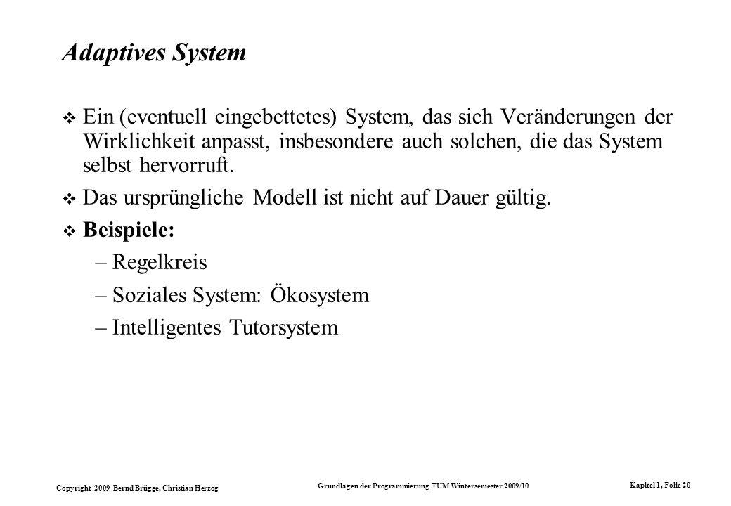 Adaptives System