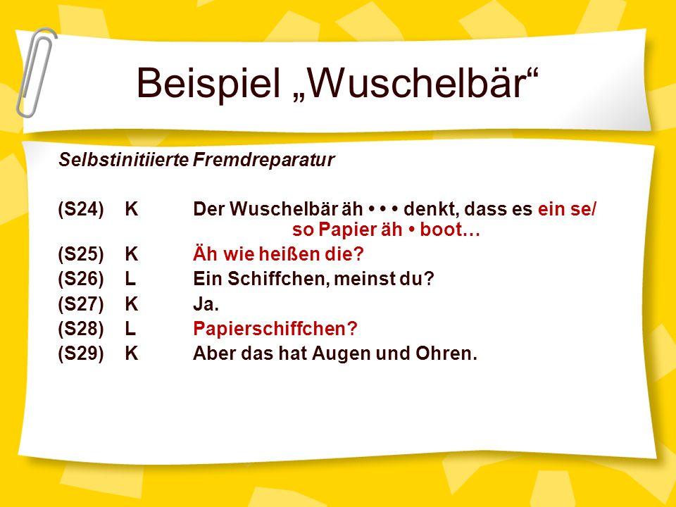 """Beispiel """"Wuschelbär"""
