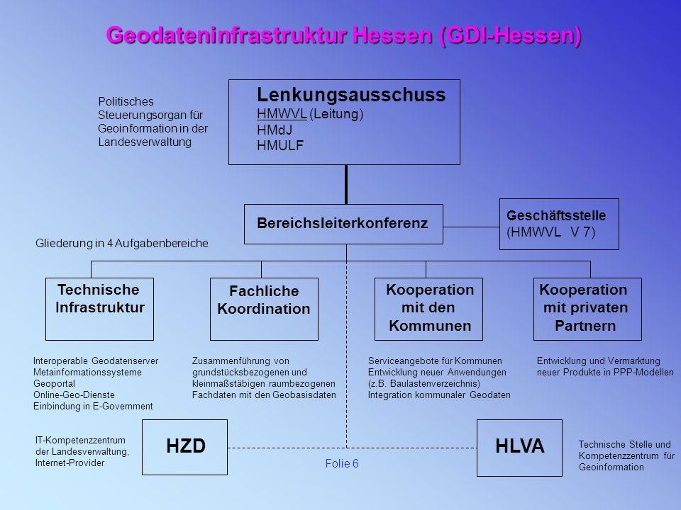 Geodateninfrastruktur Hessen (GDI-Hessen)