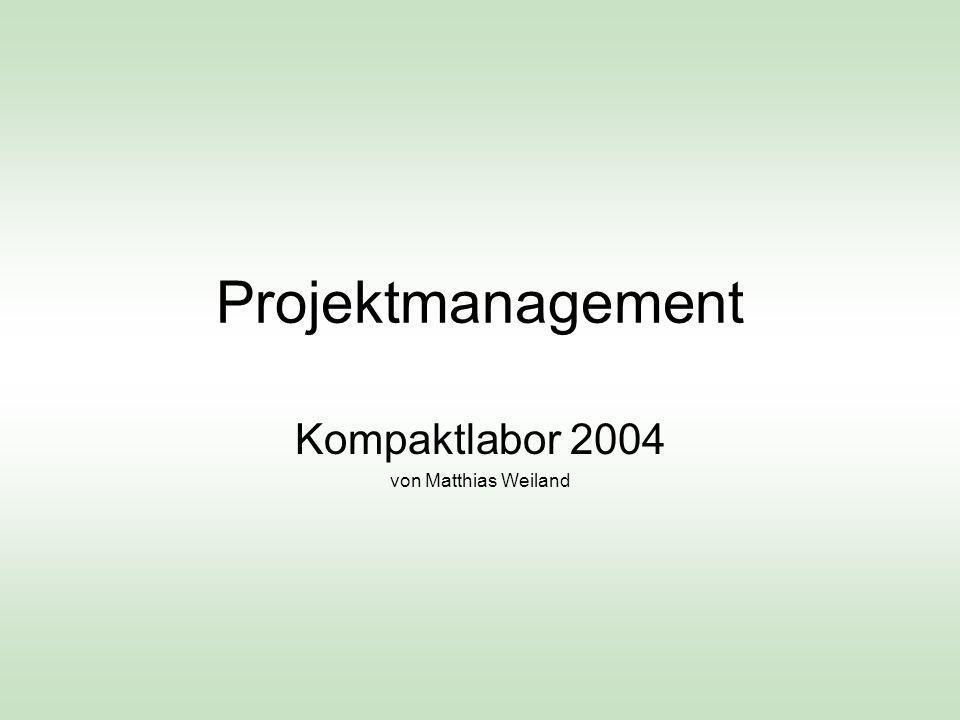 Kompaktlabor 2004 von Matthias Weiland