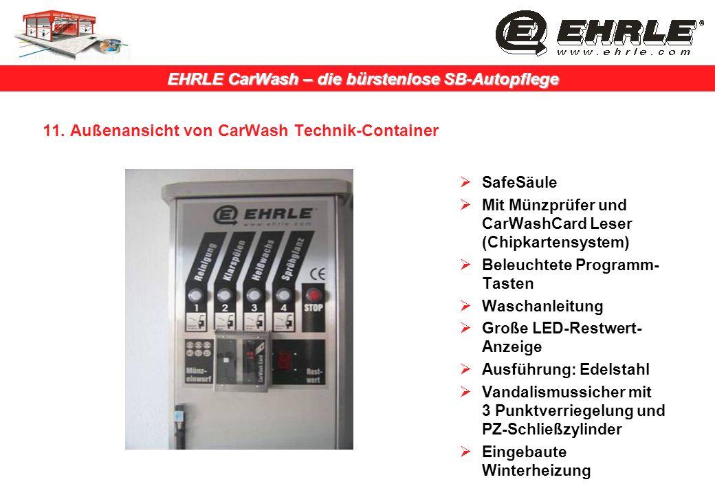 11. Außenansicht von CarWash Technik-Container