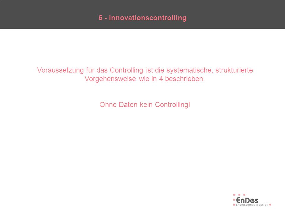 5 - Innovationscontrolling