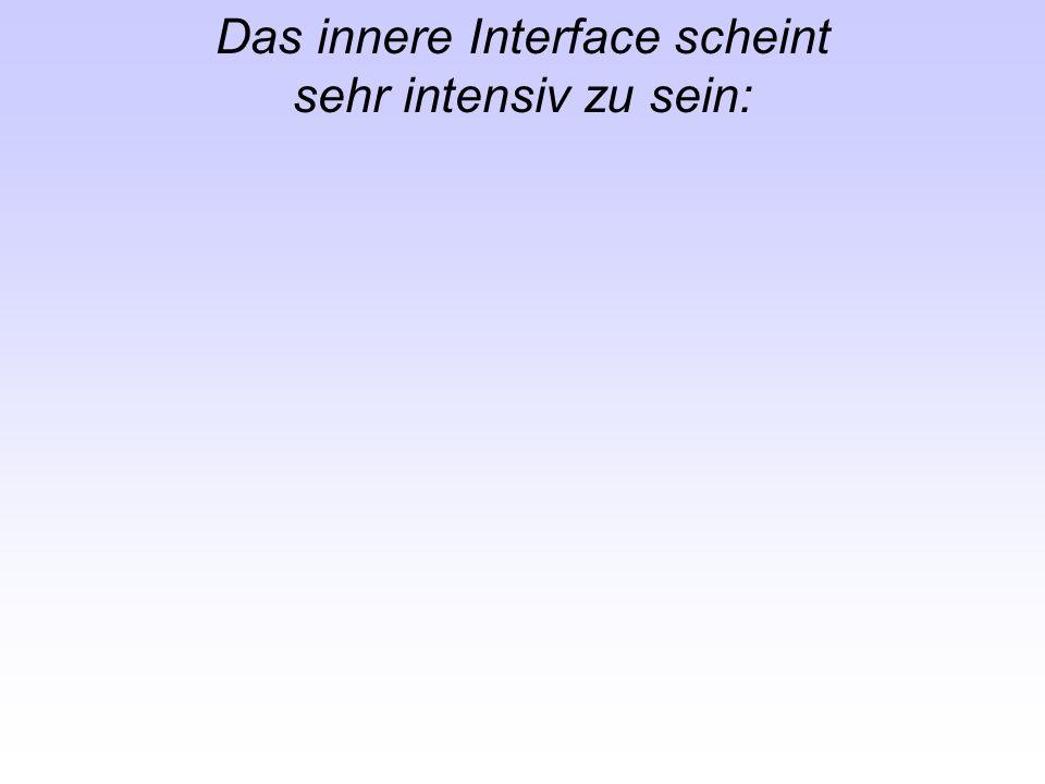 Das innere Interface scheint