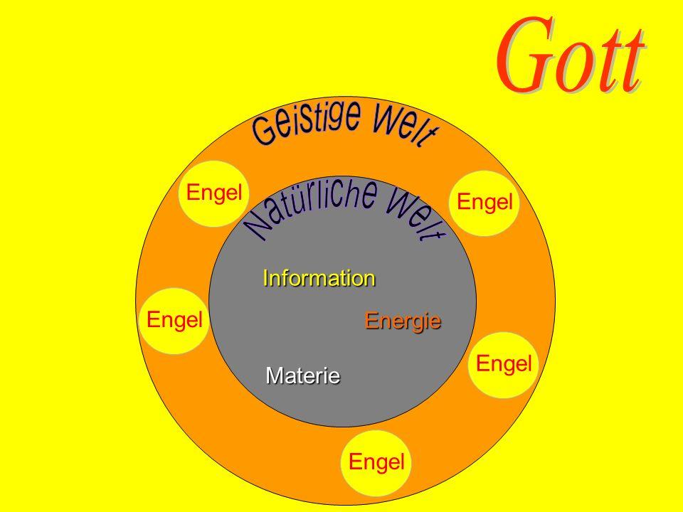Gott Geistige Welt Engel Natürliche Welt Materie Energie Information