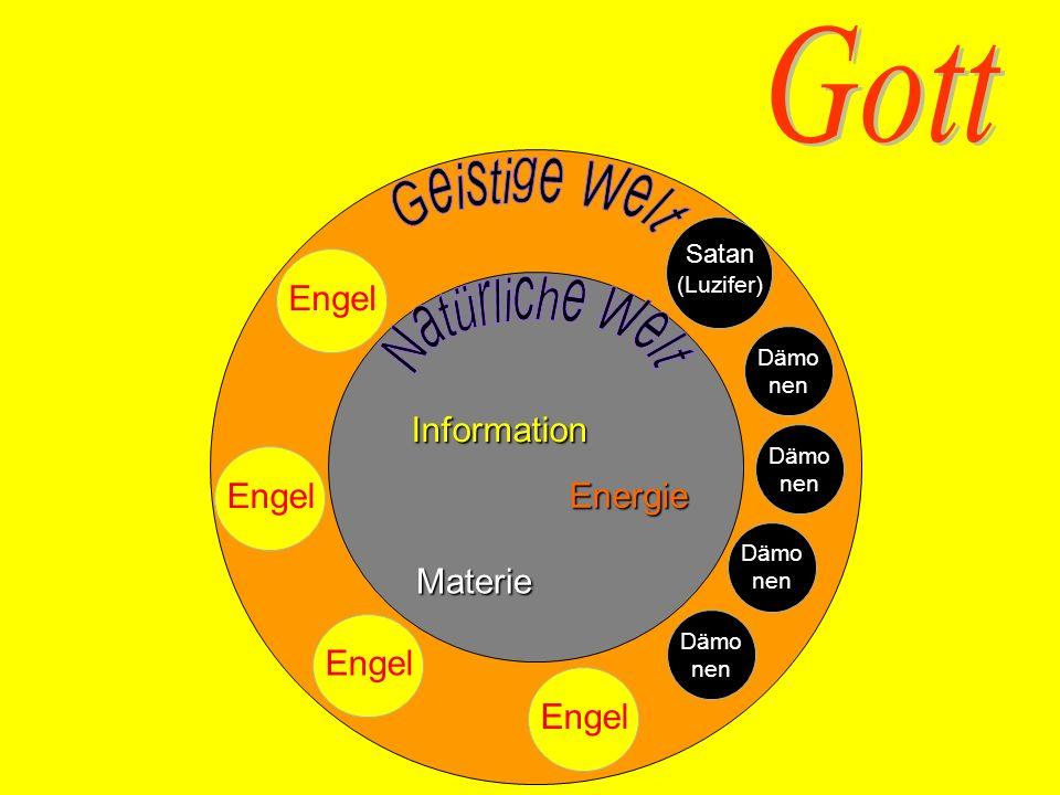 Gott Geistige Welt Natürliche Welt Engel Information Engel Energie