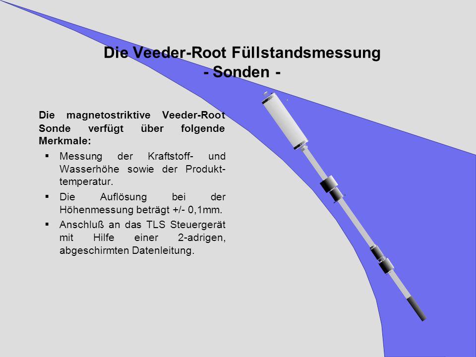 Die Veeder-Root Füllstandsmessung - Sonden -