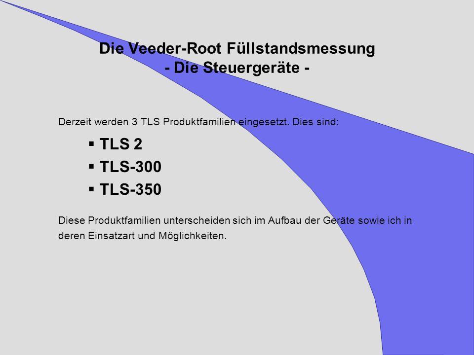 Die Veeder-Root Füllstandsmessung - Die Steuergeräte -