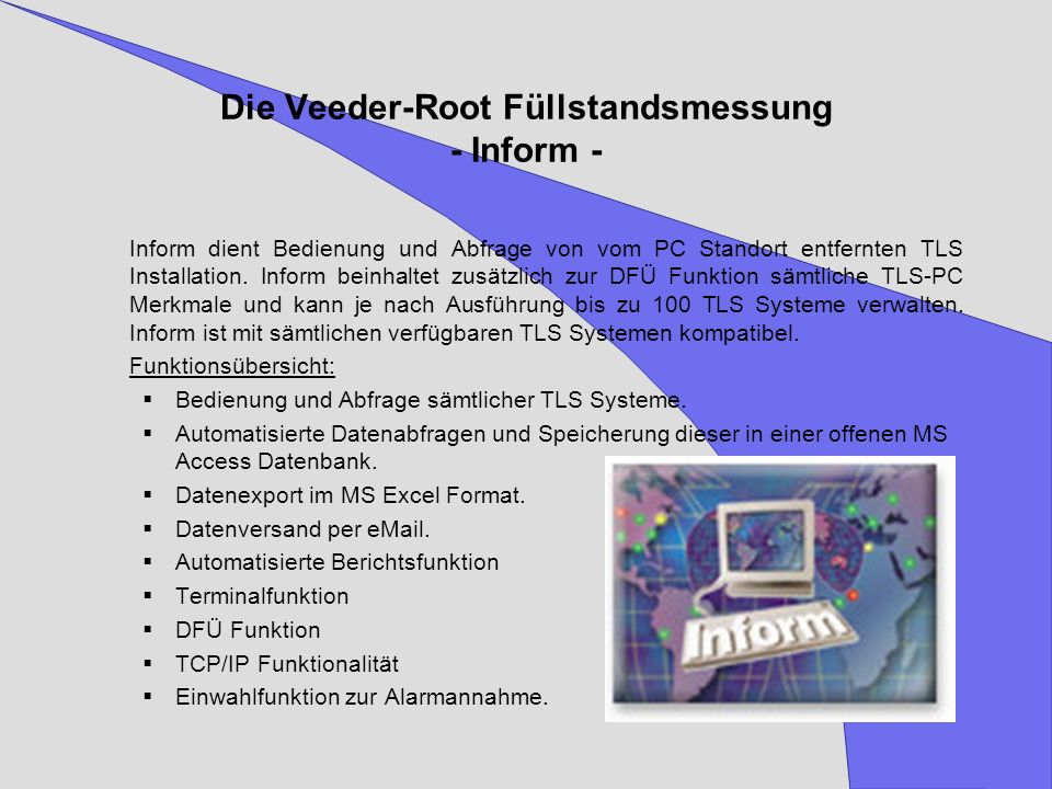 Die Veeder-Root Füllstandsmessung - Inform -