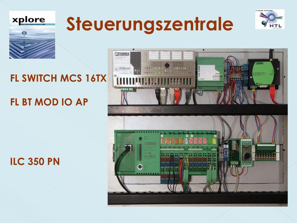 Steuerungszentrale FL SWITCH MCS 16TX FL BT MOD IO AP ILC 350 PN