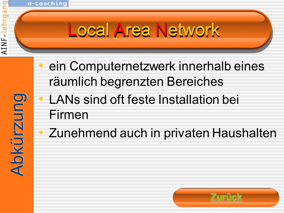 Local Area Network Abkürzung