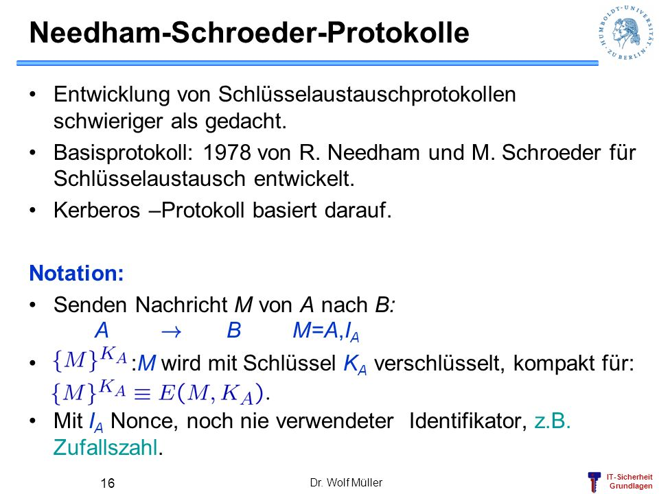 Needham-Schroeder-Protokolle