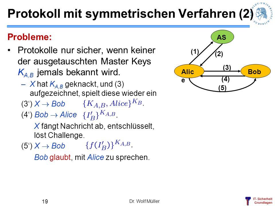 Protokoll mit symmetrischen Verfahren (2)