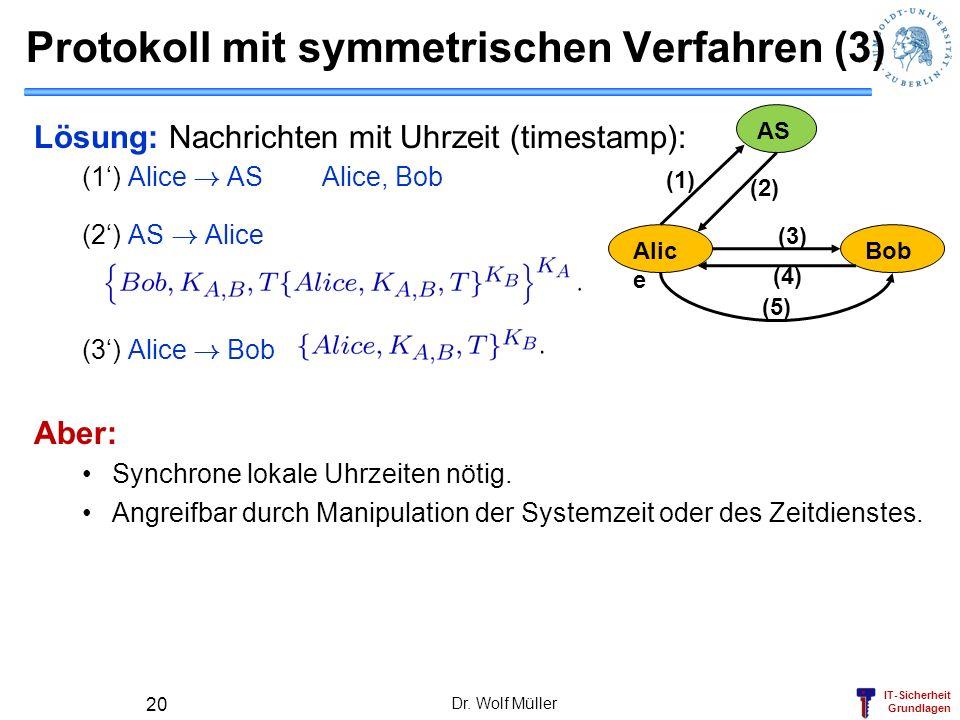 Protokoll mit symmetrischen Verfahren (3)