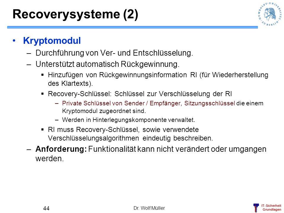Recoverysysteme (2) Kryptomodul