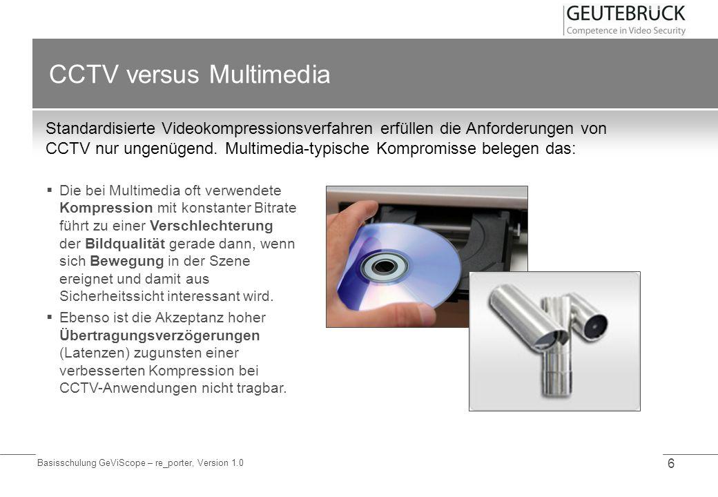 CCTV versus Multimedia