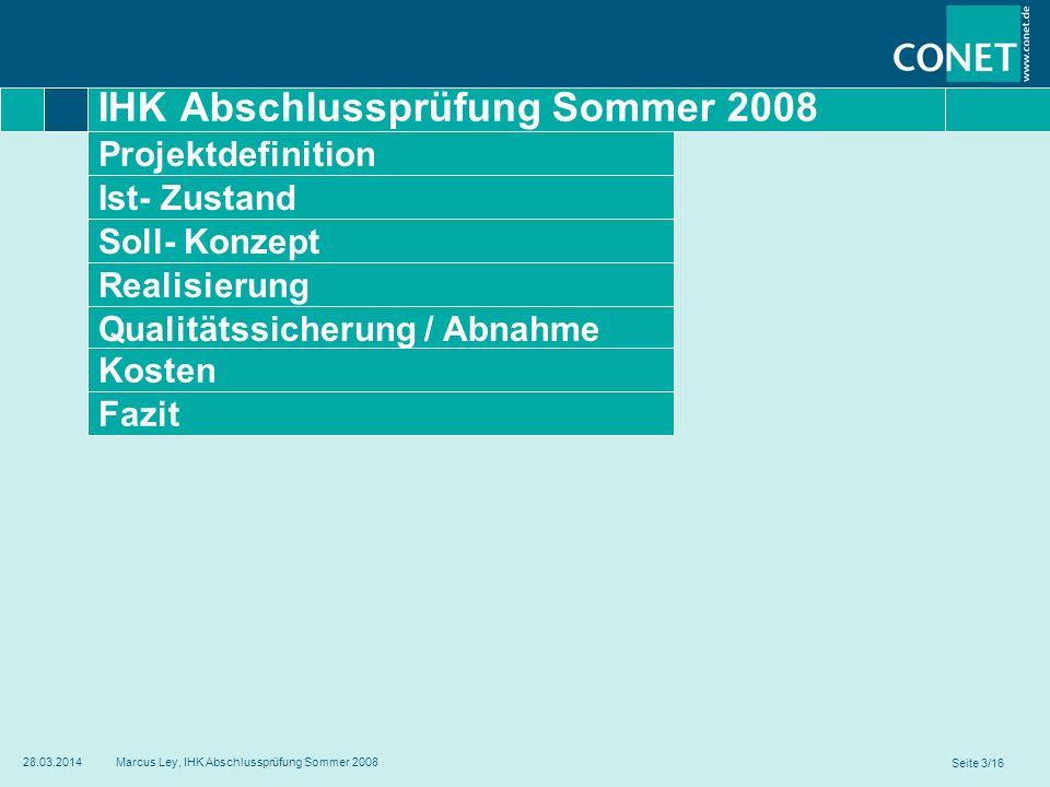 IHK Abschlussprüfung Sommer 2008