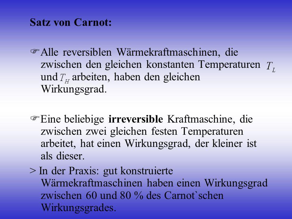 Satz von Carnot: