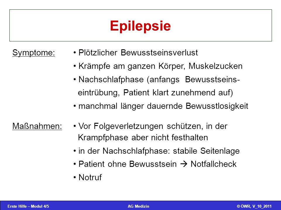 Epilepsie Symptome: Plötzlicher Bewusstseinsverlust