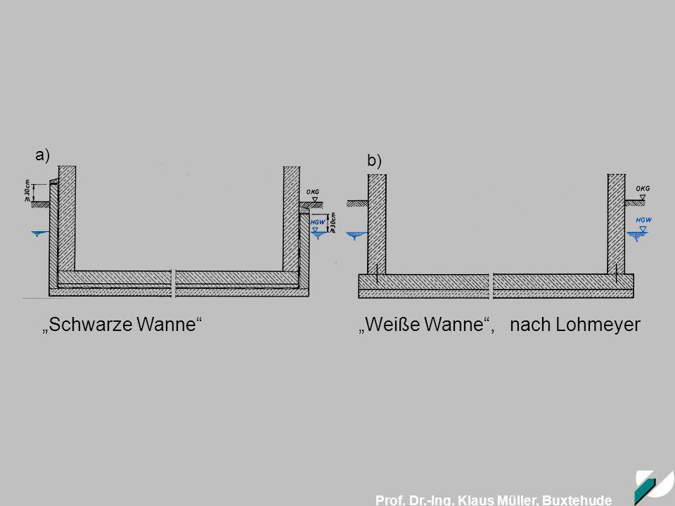 """""""Schwarze Wanne """"Weiße Wanne , nach Lohmeyer"""