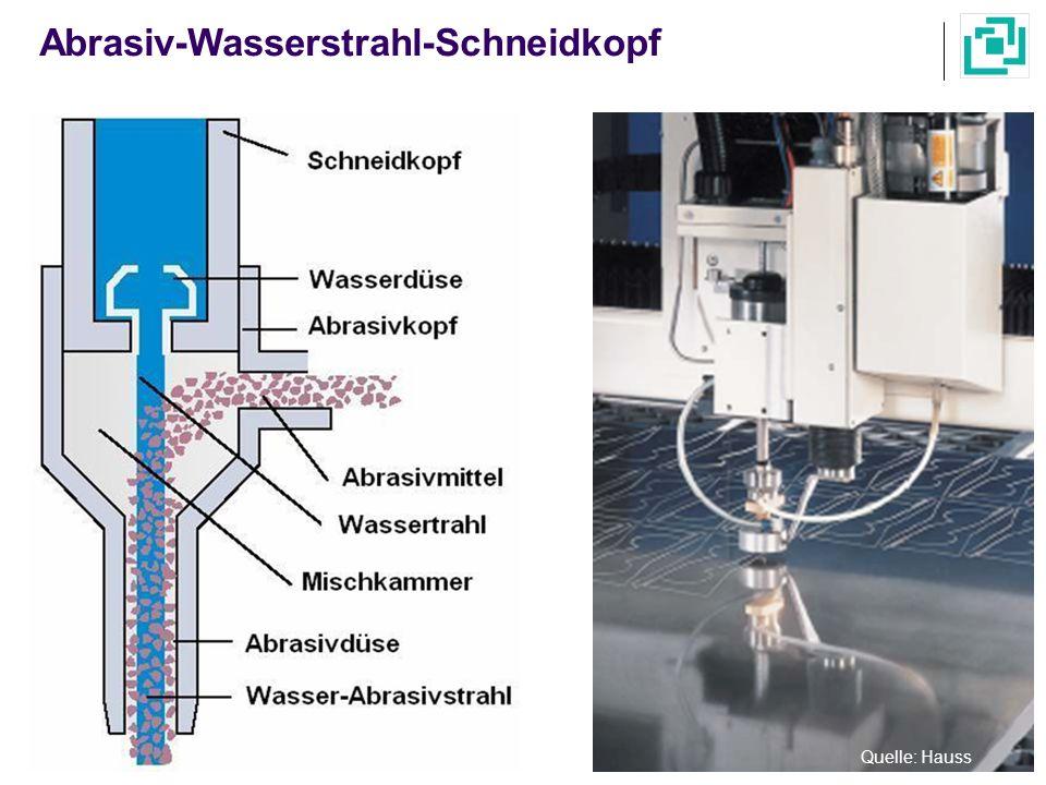 Abrasiv-Wasserstrahl-Schneidkopf