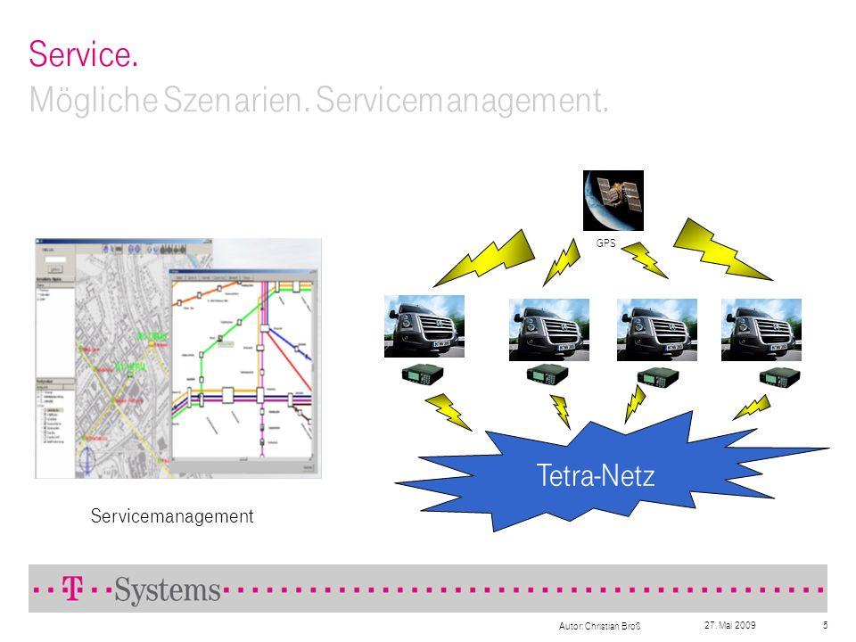 Service. Mögliche Szenarien. Servicemanagement.
