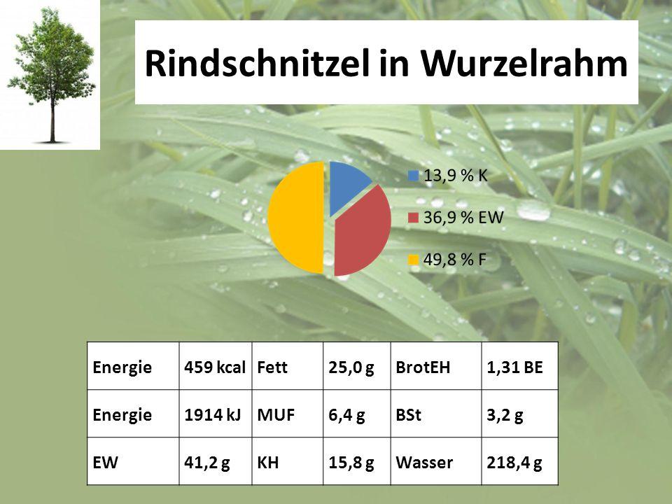 Rindschnitzel in Wurzelrahm