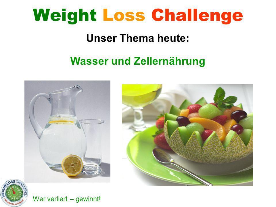 Wasser und Zellernährung