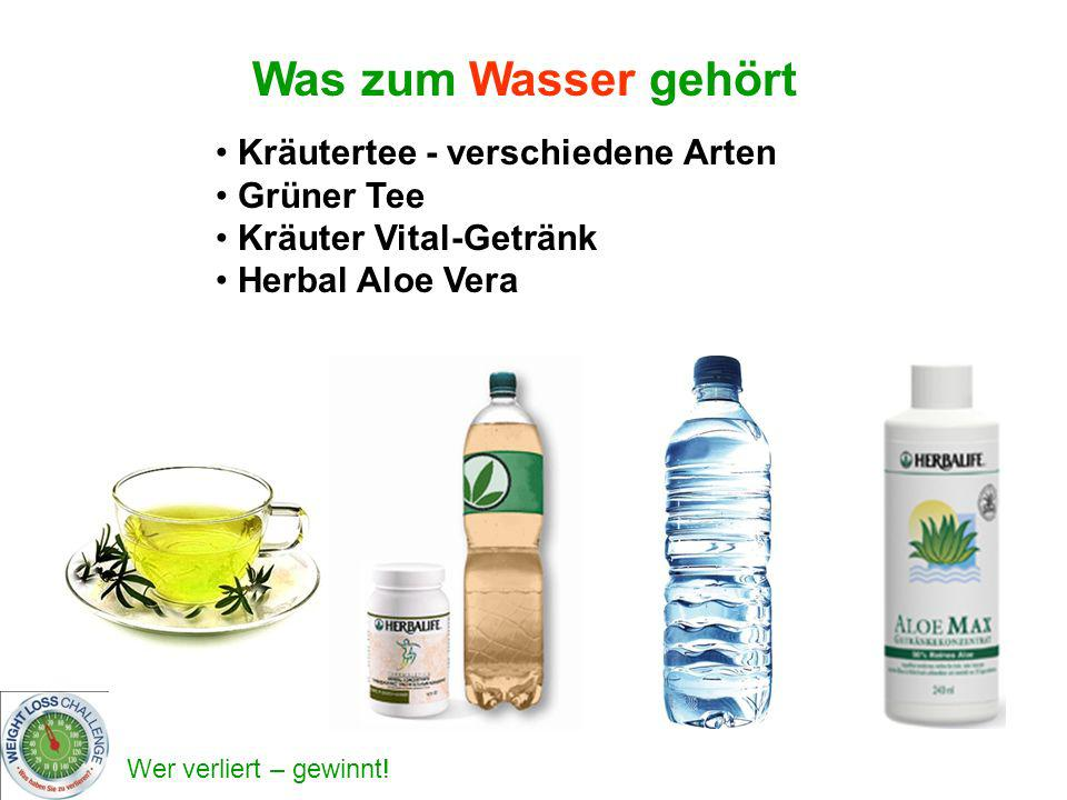 Was zum Wasser gehört Kräutertee - verschiedene Arten Grüner Tee