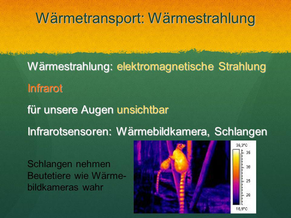 Wärmetransport: Wärmestrahlung