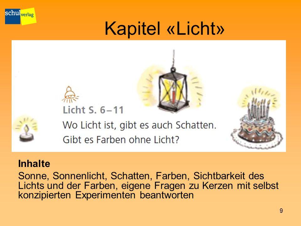 Kapitel «Licht» Inhalte