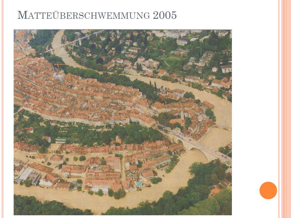 Matteüberschwemmung 2005
