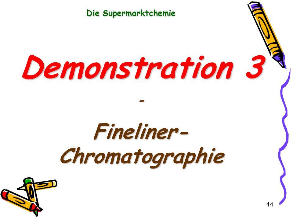 Fineliner-Chromatographie