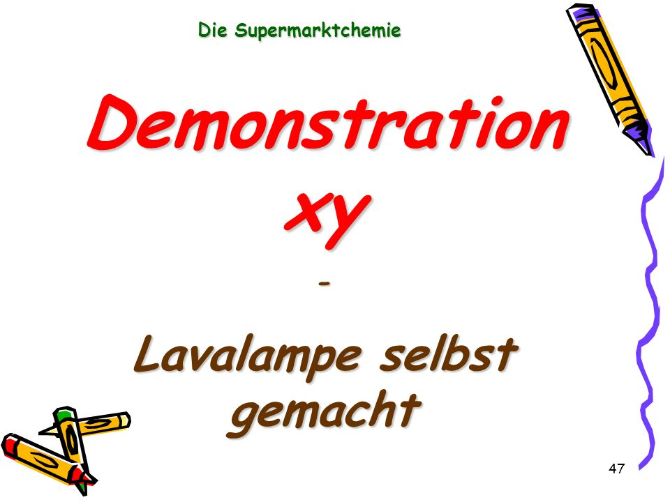 Lavalampe selbst gemacht