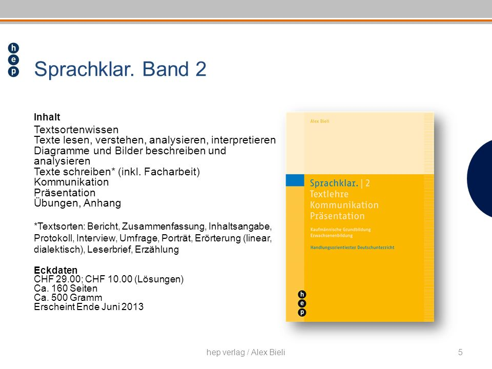 Sprachklar. Band 2 Textsortenwissen