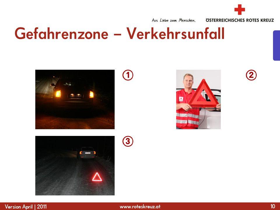 Gefahrenzone – Verkehrsunfall