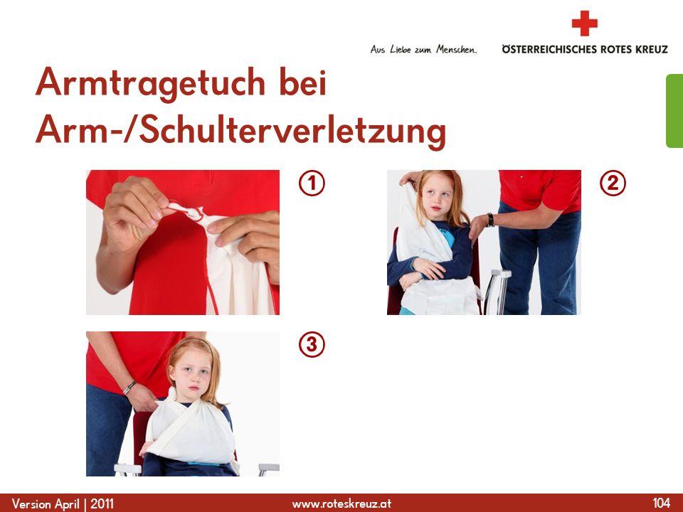 Armtragetuch bei Arm-/Schulterverletzung