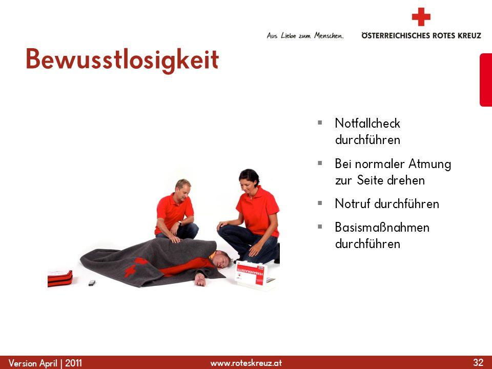 Bewusstlosigkeit Notfallcheck durchführen