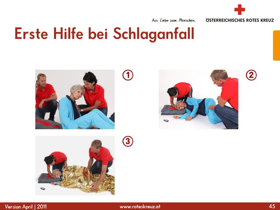 Erste Hilfe bei Schlaganfall
