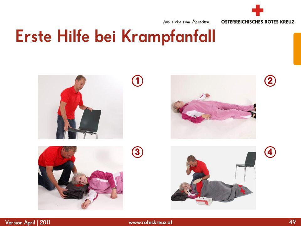 Erste Hilfe bei Krampfanfall