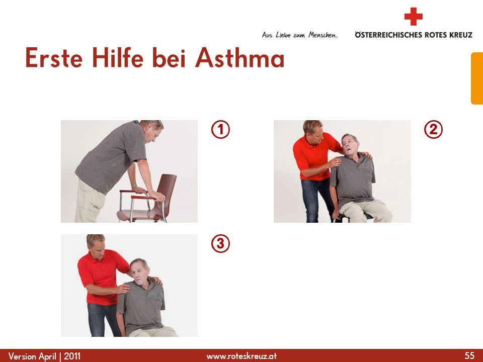 Erste Hilfe bei Asthma