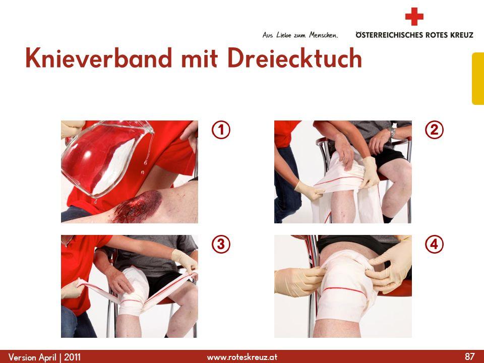 Knieverband mit Dreiecktuch