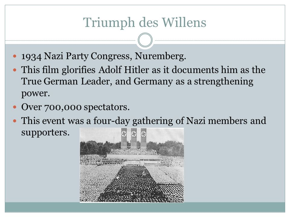 Triumph des Willens 1934 Nazi Party Congress, Nuremberg.